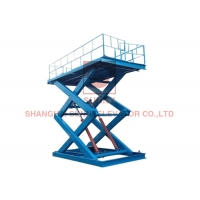 Buy cheap 5000kg Capacity Stationary Hydraulic Electric Scissor Lift Tables / Scissor Lifts from wholesalers