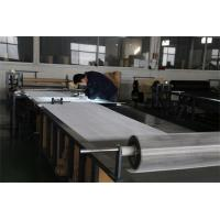 Buy cheap Plain Woven 316l Stainless Steel Mesh Sheet Smooth Surface For Oil Filter from wholesalers