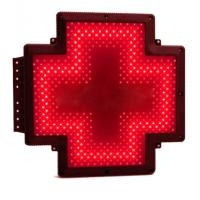 Buy cheap Single Green Pharmacy Cross Sign Advertising RF Control Animated Shining from wholesalers