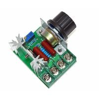 Buy cheap 2000W 220V AC SCR Electric Voltage Regulator Motor Speed Control Controller from Wholesalers