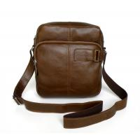 Buy cheap Wholesale Price Great Vintage tan Leather Briefcase Messenger Bag Purse #7006R from wholesalers
