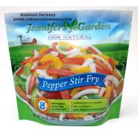 Buy cheap Custom Printed Laminating Material PET / PE Frozen Food Packaging Bag Stand Up from wholesalers