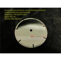 Buy cheap Electroplated Diamond Cutting Blades & Discs for Cutting Marble, Granite, Thermosettin miya@Moresuperhard.com from wholesalers