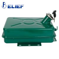 Buy cheap 5L Big Volume Iron Portable Fuel Tank  Heater Spare Parts Green Painted from wholesalers