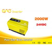 Buy cheap off grid solar inverter single phase pure sine wave dc ac 24vdc to 240v inverter generator 2000w from wholesalers