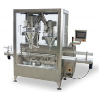 Buy cheap Albumen Auger Dry Powder Filling Machine Automatic With 1 Line 2 Fillers from wholesalers