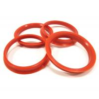 Buy cheap Audi Components Wheel Spacer Hub Centric Ring , Car Wheel Ring Red Color from wholesalers