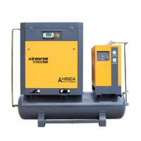 Buy cheap Airhorse Screw air compressor with air tank and dryer SKF bering from wholesalers