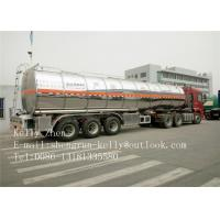 Buy cheap Petrol 3 Axle Oil Fuel Tanker Trailer Polar Tank And Trailer from wholesalers