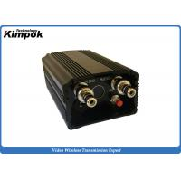 Buy cheap Long Range AV Wireless Transmitter with 2000mw FM Video Transmitter and Receiver 2-5km LOS product