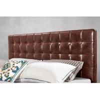 Buy cheap Leather / Fabric Upholstered Headboard Bed for Apartment Bedroom interior from wholesalers