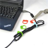 Buy cheap PP Material Cable Drop Clips Cord Ring Clamp For USB And Charge Line from wholesalers