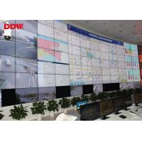 Buy cheap Curved lcd screen Portable video wall  46 Inch indoor display   DVI  VGA signal interface from wholesalers