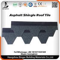 Buy cheap Fiberglass Red 3-tab Architectural Asphalt Roofing Shingle For Slope Roofing Project from wholesalers