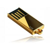 Buy cheap Laser Engraving Golden 8GB Mini USB Flash Drive from wholesalers