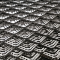 Buy cheap Heavy Duty Galvanized Construction 0.5mm Expanded Metal Wire Mesh from wholesalers