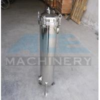 Buy cheap Stainless Steel Multiple Bag Cartridge Filter For Ultra Purification Bags Water Filter Machine from wholesalers
