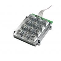 Buy cheap Die-casting Vandalproof numeric keypad for payphone and other devices from wholesalers