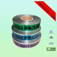 Buy cheap Custom Printed Cable Danger Underground Detectable Warning Tape in Low Density Polyethylen from wholesalers
