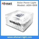 Buy cheap 4x4 inch Square Solar Paver Lights Waterproof Solar Brick Lights IP68 Solar Underground Inground Lights Maintenance Free from wholesalers