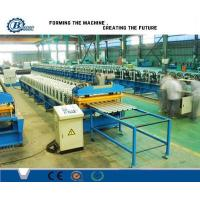 Buy cheap 230-550 Mpa Hydraulic Station Wall And Roof Cladding Sheets Steel Roll Forming Machine from wholesalers