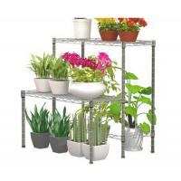 Buy cheap Unique Decorative Outdoor Furniture Plant / Flower Display Rack 50 * 60 * 60CM from wholesalers