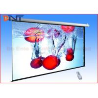 Buy cheap Pull Down Video Projection Projector Screen , 16 9 Projection Screen Sizes 92 Inch from wholesalers