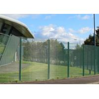 Buy cheap Powder Coated 358 Security Fencing Horizontal Wire 3.2mm Panel Size 2.4*2.1m from wholesalers