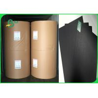 Buy cheap 300gsm 350gsm Good Stiffness And Pull Black Book Binding Board For Photo Frame from wholesalers