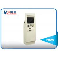 Buy cheap 22 inch electronic Windows self service kiosk terminal with bill acceptor from wholesalers