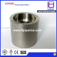 Buy cheap Forged High Pressure Pipe Fittings Socket Weld 1 4 npt Half Coupling from wholesalers