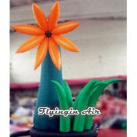 Buy cheap 4m Height Ground Inflatable Flower for Event And Wedding Decoration from wholesalers