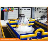 Buy cheap Commercial Grade Inflatable Backyard Water Park / Inflatable Foam Dance Pit from wholesalers