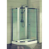 Buy cheap Compact D Shaped Quadrant Shower Enclosures 4 Ft Small Corner Shower Stalls from wholesalers