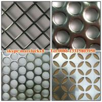 Buy cheap 2015 canton fair round hole perforated metal sheet from wholesalers