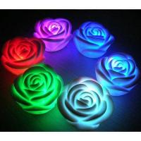 Color changing led moon light rose flowers 96388416 for Color changing roses