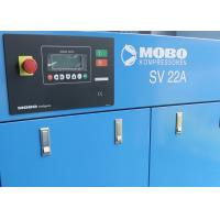 Buy cheap Oil Injected Direct Driven Air Compressor With Variable Frequency Motor 22kW from wholesalers