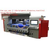 1.8m Dx5 Digital Textile Printing Machine Disperse / Reactive /  Pigment Ink