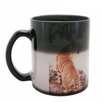 Buy cheap 11oz Color Changing Mug (Black Glass) from wholesalers