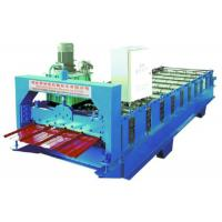 Buy cheap Single Layer R Panel Metal Roof Roll Forming Machine 10 Rows Box Profile from wholesalers