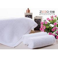 Buy cheap ZEBO Disposable Hotel Face Towel White Color 21S / 32S / 16S Cotton Yarn from wholesalers