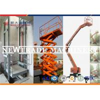 Buy cheap 3.3kw Hydrualic Lifting Equipment , Self Propelled Scissor Lift Platform from wholesalers