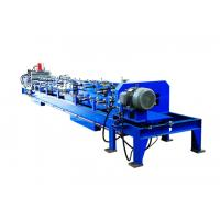 Buy cheap Auto Change Size C Purlin Roll Forming Machine , Steel Frame Forming Machine from wholesalers