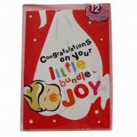 Buy cheap Promotional record greeting card, made of ivory board from wholesalers