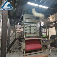 Buy cheap Full Automatic Non Woven Fabric Making Machine/SS Spunbond Non Woven Fabric Making Machine from wholesalers