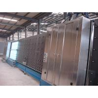 Buy cheap Stainless Steel Vertical Insulating Glass Production Line 60mm Thickness from wholesalers