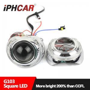 China IPHCAR Wholesale 35W 12V Crystal Led Halo rings hid xenon car headlight on sale