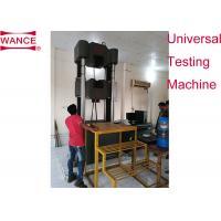 Heavy Duty Servo Hydraulic Universal Testing Machine 2000kN BS4449 Standard