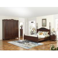 Buy cheap Rubber Wood bedroom Furniture good quality Headboard Bunk bed 1.8 /1.5 M with from wholesalers