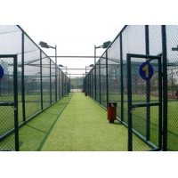 Buy cheap Playground Quick Assembly Diamond Chain Link Fence from wholesalers